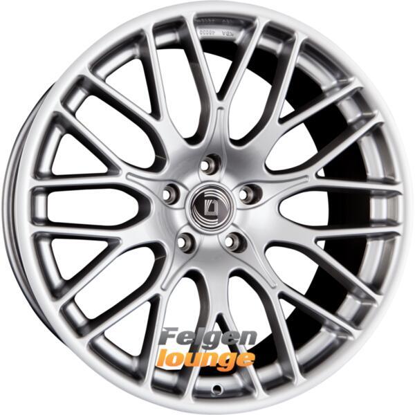 diewe wheels impatto argento silber 10x22 et40 5x120. Black Bedroom Furniture Sets. Home Design Ideas